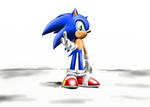 Sonic the hedgehog by silversonic2000
