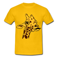 Hipster Giraffe Tee Shirt by Lazy-Bear