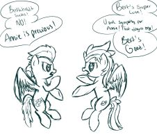 Diplomatic Discussion by LittyKittyStar