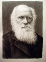 Charles Darwin by DeniseEsposito