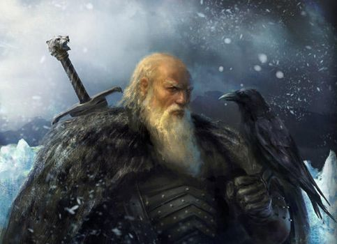 Jeor Mormont by Manzanedo