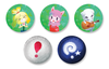 Animal Crossing Buttons