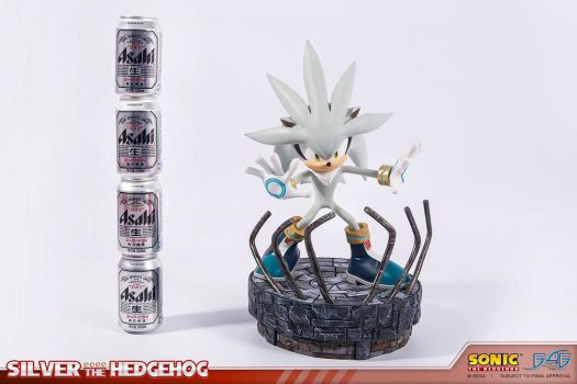 Silver The Hedgehog STATUE - LIMITED TO 375 PIECES by mathi88