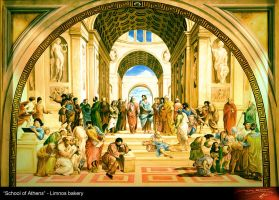 School of Athens - updated by donaldsart