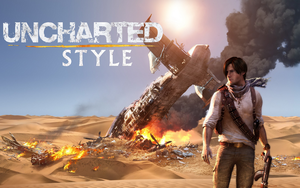 Uncharted style by Taitiii