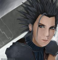 +Zack Fair: Crisis Core+ by Little-kaiyou-Kame