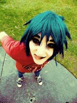 Gorillaz: Faceache by epic-phail-cosplay