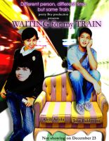 Waiting for my train by Leling