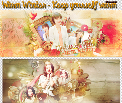 PSD - WARM WINTER WITH LINHYOONG by LinhYoong