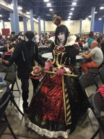 Supercon Cosplay 2015: Red Queen by shadowdelta47