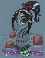 Warm Up 1, 1-2-2014 Vanellope Von Schweetz by Hodges-Art
