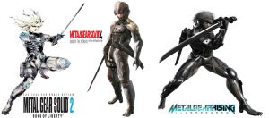 Raiden Evolution (In Metal Gear Series) by Rehman-1999