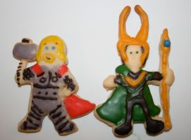 Sons of Odin Cookies by FaerieCarousel
