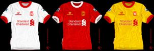 Liverpool kits Warrior 2012 by kitster29