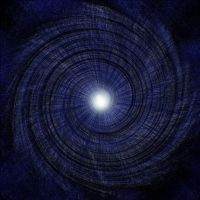 Blue spiral by etiark