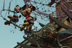 Mickey and Minnie In The Evening by DC-Mini