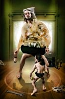sumo inner temptation by Heile