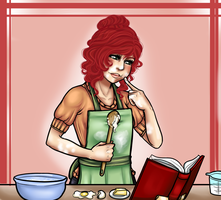 Let's Bake - Commission by Mama-Moose