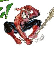 X-Mas Spidey Colours by WinkGuy1