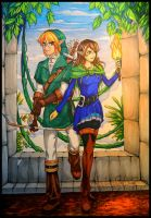 Adventures in Hyrule by UNIesque