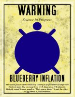 WARNING: Science in Progress - Blueberry Inflation by Tesla51
