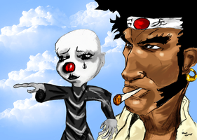 Afro Samurai by Bicabo