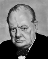 Winston Churchill by Rapsag