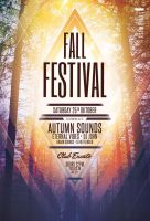 Fall Festival Flyer by styleWish
