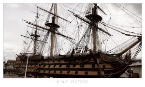 H.M.S Victory by MVestala