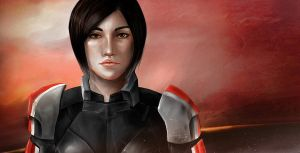 Shepard by xCoffeeAddict