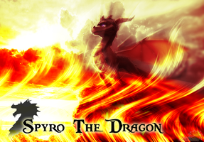 Flames of a Purple Dragon:: by SpyxedDemon