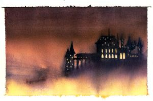 Hogwarts in the Mist by The-Starhorse