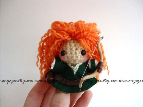 Merida Amigurumi by AnyaZoe