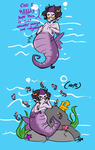 Seahorse Troubles by Squidbiscuit