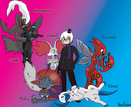 My Pokemon and I by TheLuckyNote827
