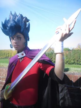 Victor's Blade Inazuma Cosplay by YUGIOHPASSIONCOSPLAY