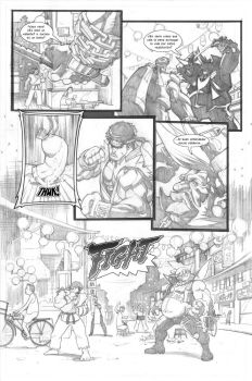SFV FanComic Pag.2 by JAG-Comics