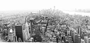 New York in black and white by Cathhhhz
