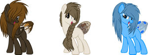 Sugar Munchie Adopts #14 #15 and #16 by iAPOCOLYPTIK