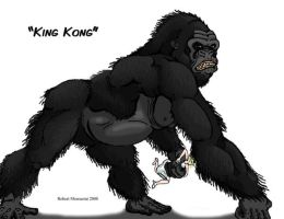 Kong Generations- King Kong by Crocazill