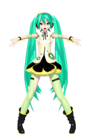 Dreamy Theater 2nd Pansy Miku by Sushi-Kittie