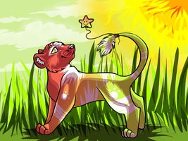 Naki, my lion! by little-space-ace