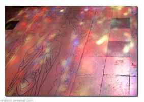 Stained Glass and Sunlight by infiltrator