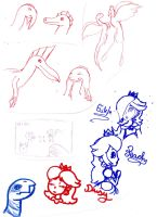Doodle page 9 by Dino-drawer
