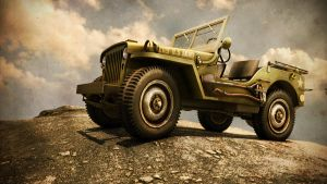 Jeep Willys 1942 by RogerElSantos