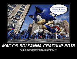 Macy's Thanksgiving Day Soleanna Crackup 2013 by shadowbane2009