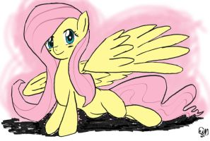 Fluttershy Practice Drawing by Sir-Croco