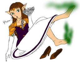 Zelda's Stinky Feet Colored by Tiny-Zane