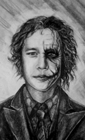 Heath Ledger  |  The Joker by Zusacre