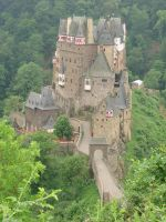 Burg Eltz a different  view by girl1